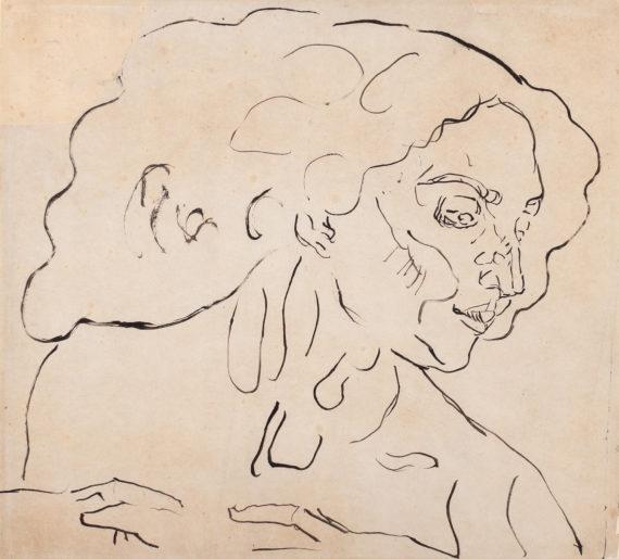Femme en extase (Ausschnitt)