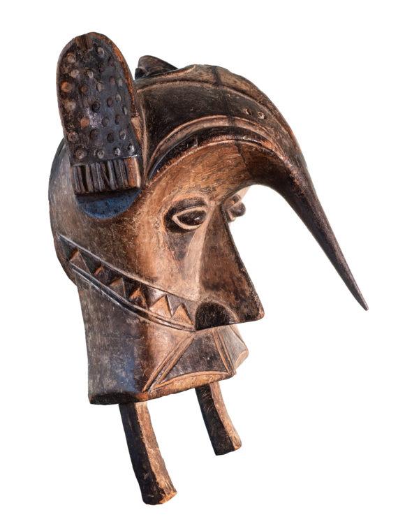 «Ogbodo»-Helmmaske