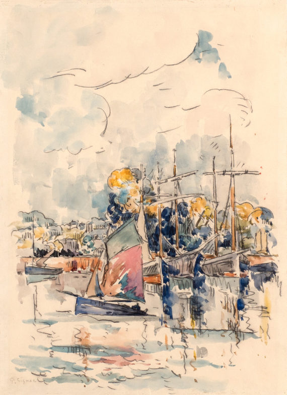 Schiffe im Hafen