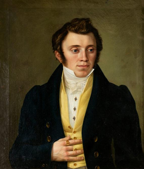 Herrenportrait mit Siegelring